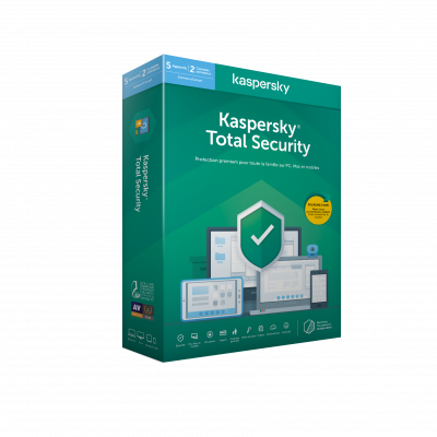 Kaspersky Total Security 2020 5 Postes/ 1An