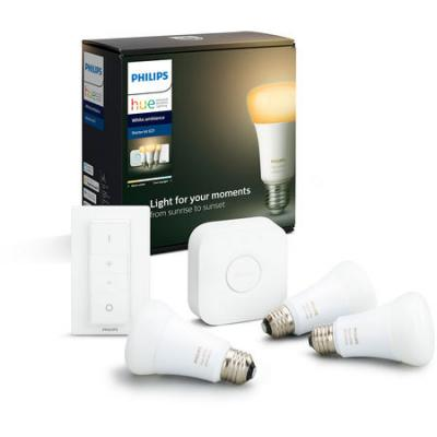 Pack PHILIPS d´marrage E27 Hue white & ambiance