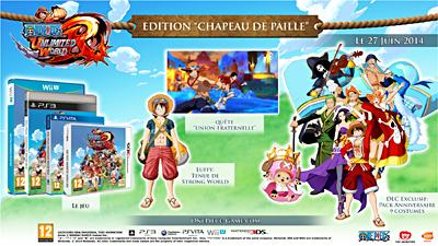 One Piece Unlimited World Red - Edition Day One