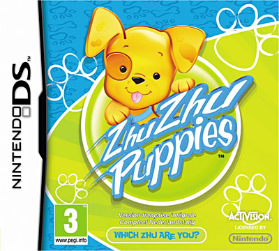 ZHU ZHU PUPPIES / Jeu console DS