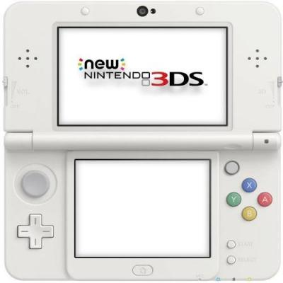 Console Nintendo New 3DS Blanche