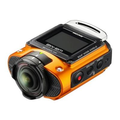 Ricoh action cam wg-m2 orange 03802