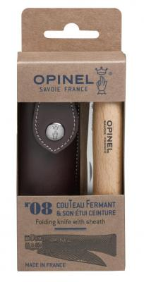 Opinel Couteau avec gaine