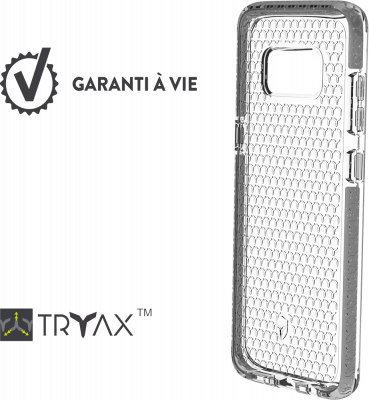 FORCE CASE Life case Galaxy S8 - Argent