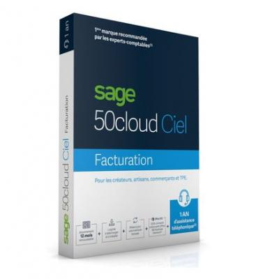 Sage 50C Facturation 1 an d'assistance