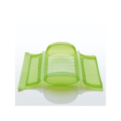 Papillote 3/4 personnes - silicone, vert