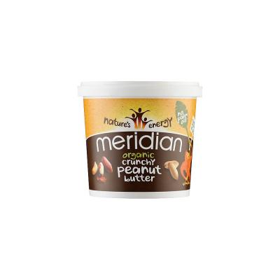 Organic Peanut Butter Meridian Foods 1000 g Smooth