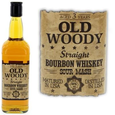 Old woody straight bourbon 3 ans
