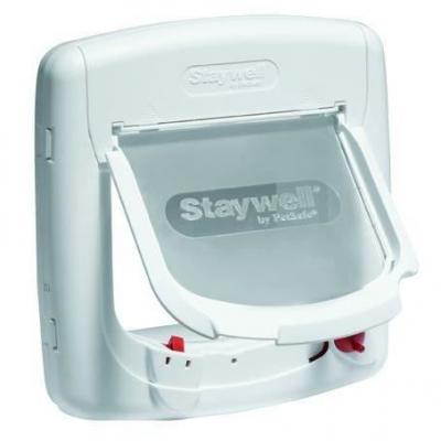 Petsafe Porte Staywell Deluxe magnétique 4 positions