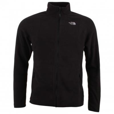 The North Face - 100 Glacier Full Zip - Veste polaire taille M, noir