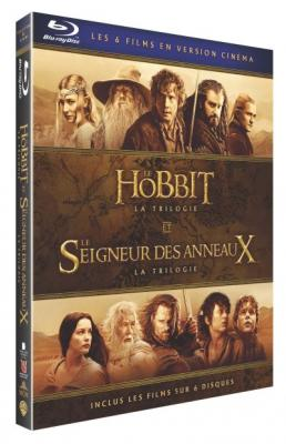 Coffret Middle Earth Light 6 films Blu-ray