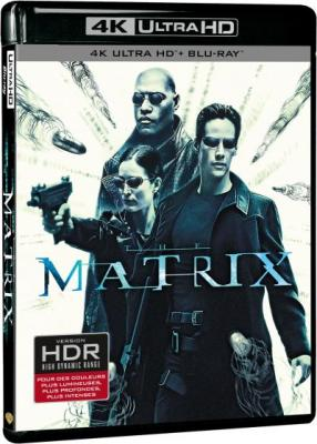 Blu-ray 4k ultra hd + blu-ray matrix