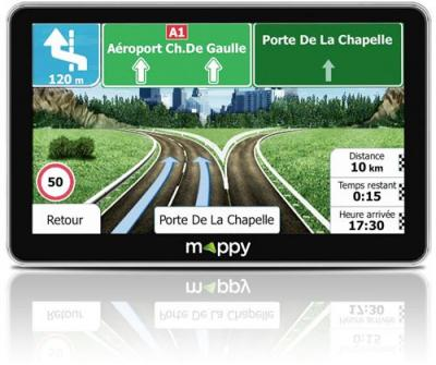 MAPPY GPS camion Maxi X755 Truck