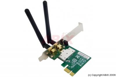 Carte PCI Express WiFi 11N 300MBPS 2 Antennes + Low Profile