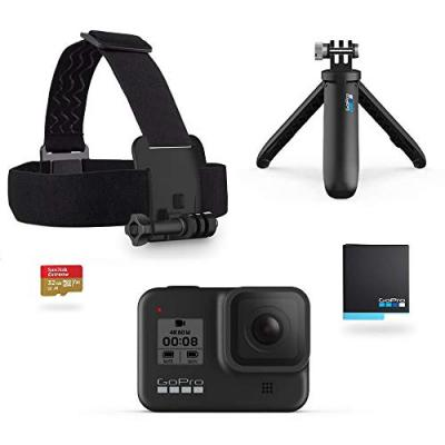 Caméra sport Gopro Hero8Black Holiday Bundle