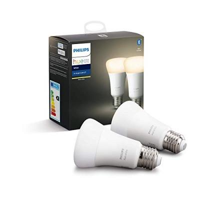 Ampoule PHILIPS Pack x2 E27 Hue White