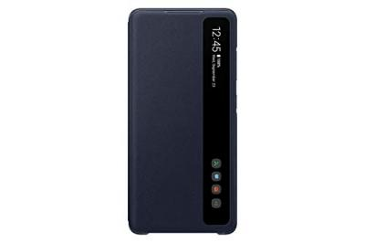 Smart Clear View Cover Bleu S20 FE
