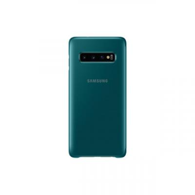 Samsung S10 Clear View Cover Green