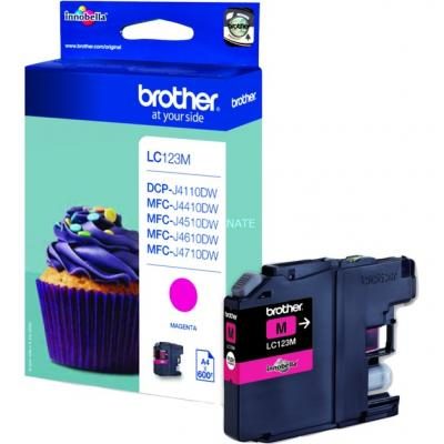 BROTHER LC123M Magenta