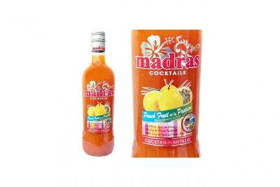 Punch Passion Madras - Guadeloupe - 18%vol - 70cl