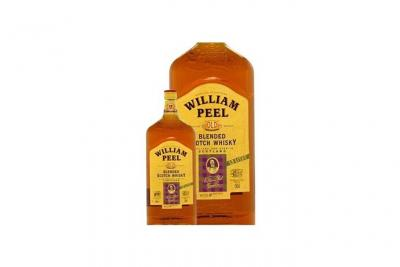 Whisky William Peel - Blended whisky - Ecosse - 40%vol - 150cl
