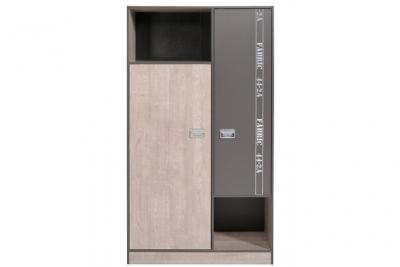 Armoire 2 portes 2 niches facty
