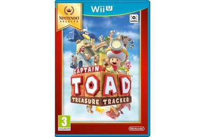 Captain toad treasure tracker selects