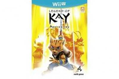Legend of kay anniversary hd wii u wii