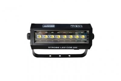 POWER LIGHTING - STROBE LED COB 200 - Stroboscope 200W 8 leds banches