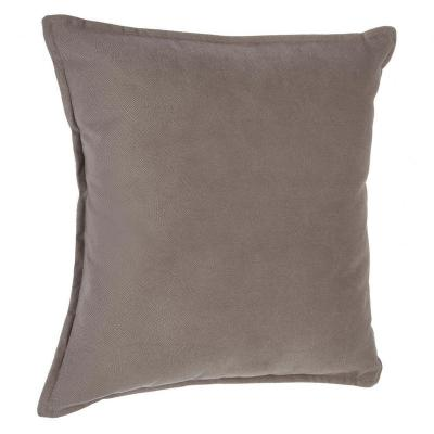 Atmosphera - coussin taupe lilou 45x45