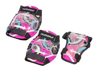 Hudora - Set de Protection - Taille M - Rose