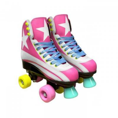 Stamp patins à roulettes Quad girls rose