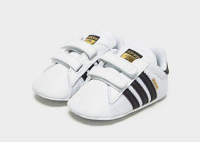 adidas Originals Baskets Superstar Crib Bébé - Footwear White / Core Black / Cloud White, Footwear White / Core Black / Cloud White