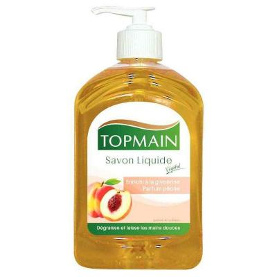 Top Main Flacon pompe 500ml savon peche