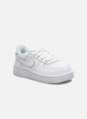 Nike Baskets Air Force 1 Low Bébé - White/White/White, White/White/White