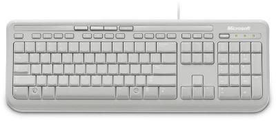 WIRED KEYBOARD 600 WHITE