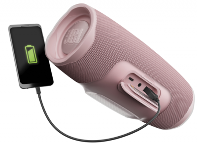 Enceinte sans fil Jbl CHARGE 4 ROSE